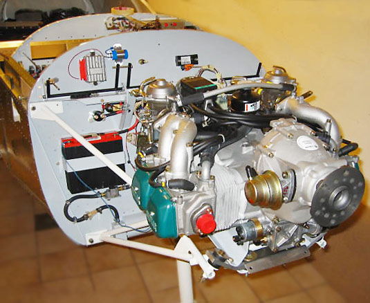 ZODIAC CH 601 Engine Installation Photos: Jabiru, Corvair