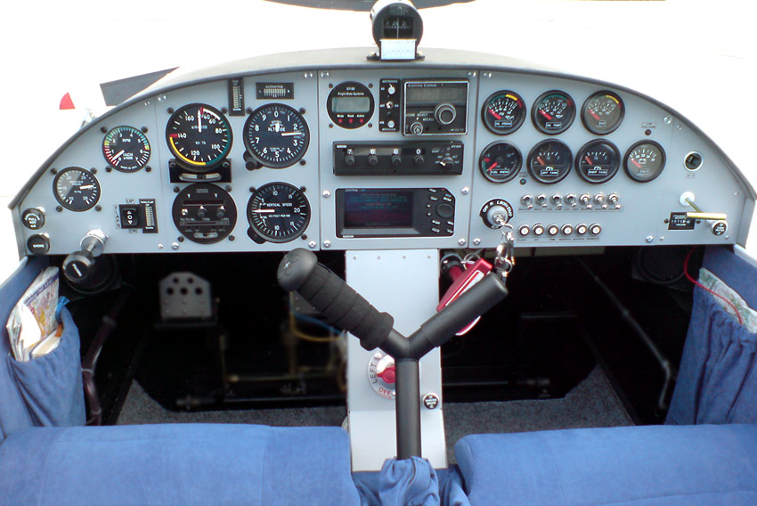 Airplane Instrument Panel : Kit airplanes for sport pilots zodiac light