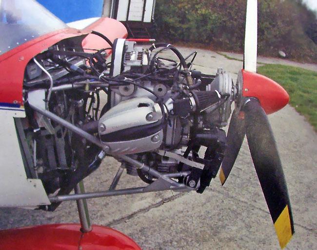custom aircraft engine installation in the zodiac ch 601 series