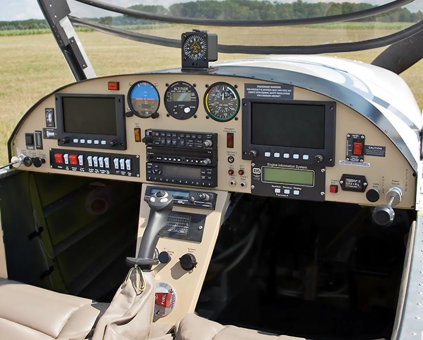 ZODIAC - Custom Instrument and Avionics Panels