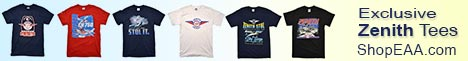 New exclusive Zenith T-shirts from EAA!