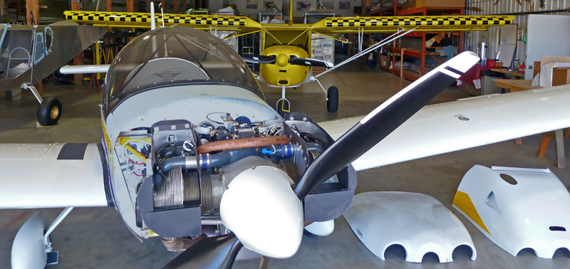 UL350iS Engine Installation on the Zenith CH 650