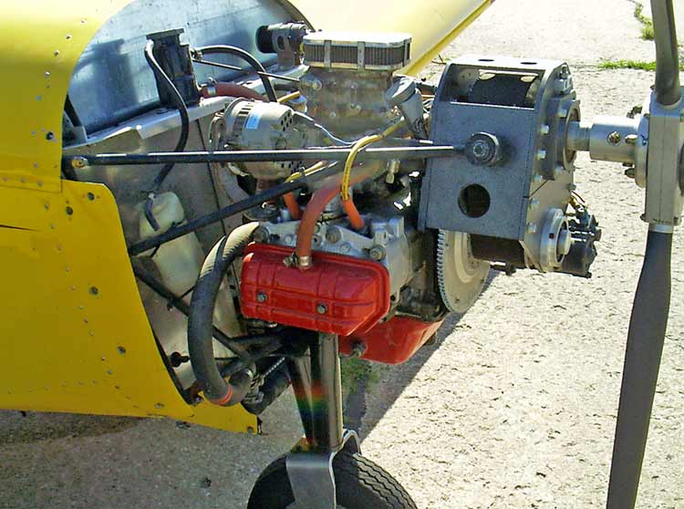 Custom Aircraft Engine Installation in the Zodiac CH 601