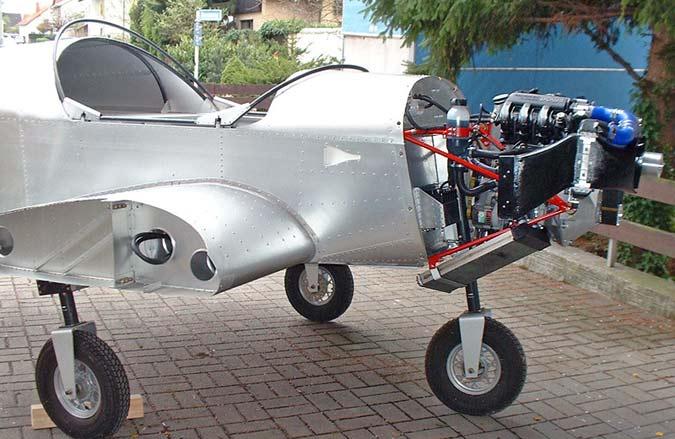 ZODIAC CH 601 Engine Installation Photos: Jabiru, Corvair