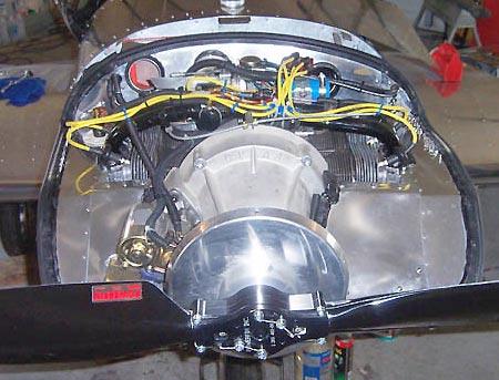 Custom Aircraft Engine Installation in the Zodiac CH 601 ...