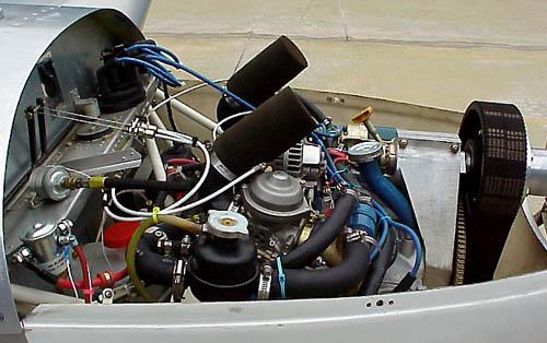 Custom Aircraft Engine Installation in the Zodiac CH 601