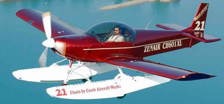 ZODIAC CH 601 XL Amphibian - Floats, Pontoons, Seaplane