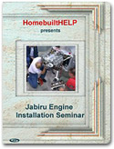 Jabiru Engine Installation Seminar on DVD