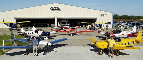 Zenith Open Hangar Day (2005 photo)